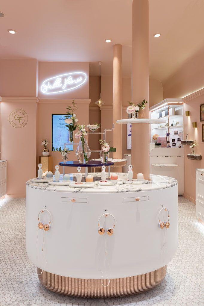 Gelle Freres Parfumeur Paris Margaux Keller Design Studio Retail Space Design Store Interiors Commercial Interior Design