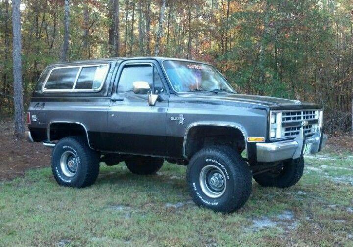 My 1986 K5 Blazer Chevy Trucks Chevrolet Trucks Trucks