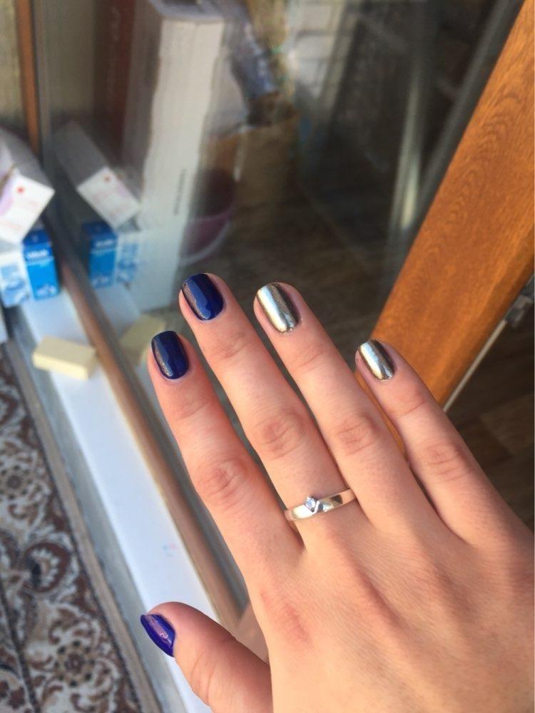 Gold Sliver Mirror Nail Glitters Purple Blue Green Mirror Nail Powder