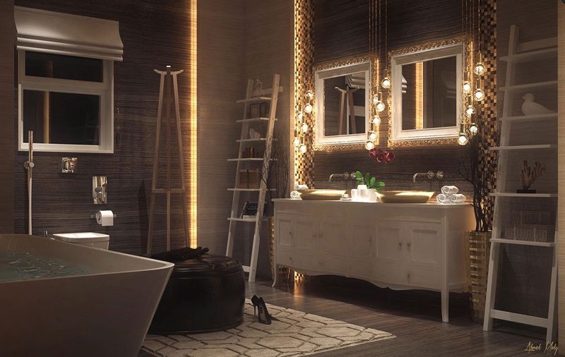 Luxurious Bathroom Design Ideas For Your Private Heaven Gorgeous Luxurious Bathroom Design Ideas
