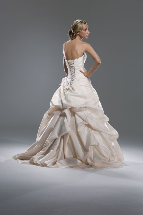 french bustle | Busy Brides Can Add A French Bustle To Their ...
