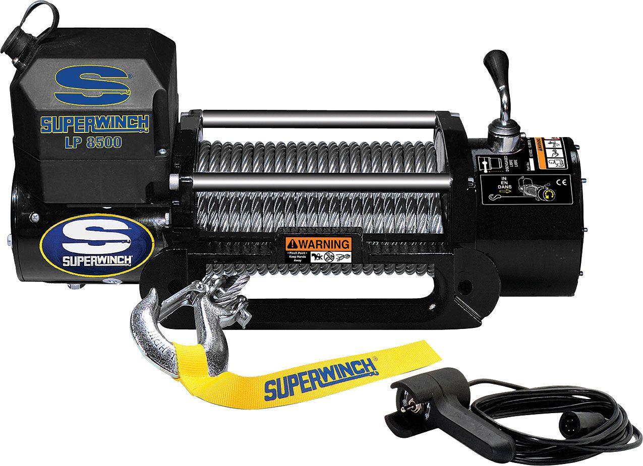 8500 Lb 12v Dc Off Road Winch Princess Auto Charlie Pinterest Smittybilt 9500 Wiring Diagram