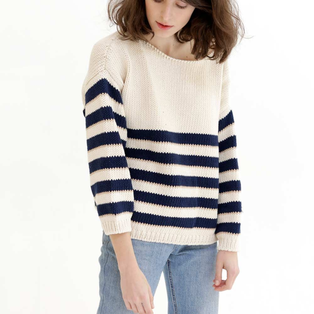 babaa cardigan woman no18 navy