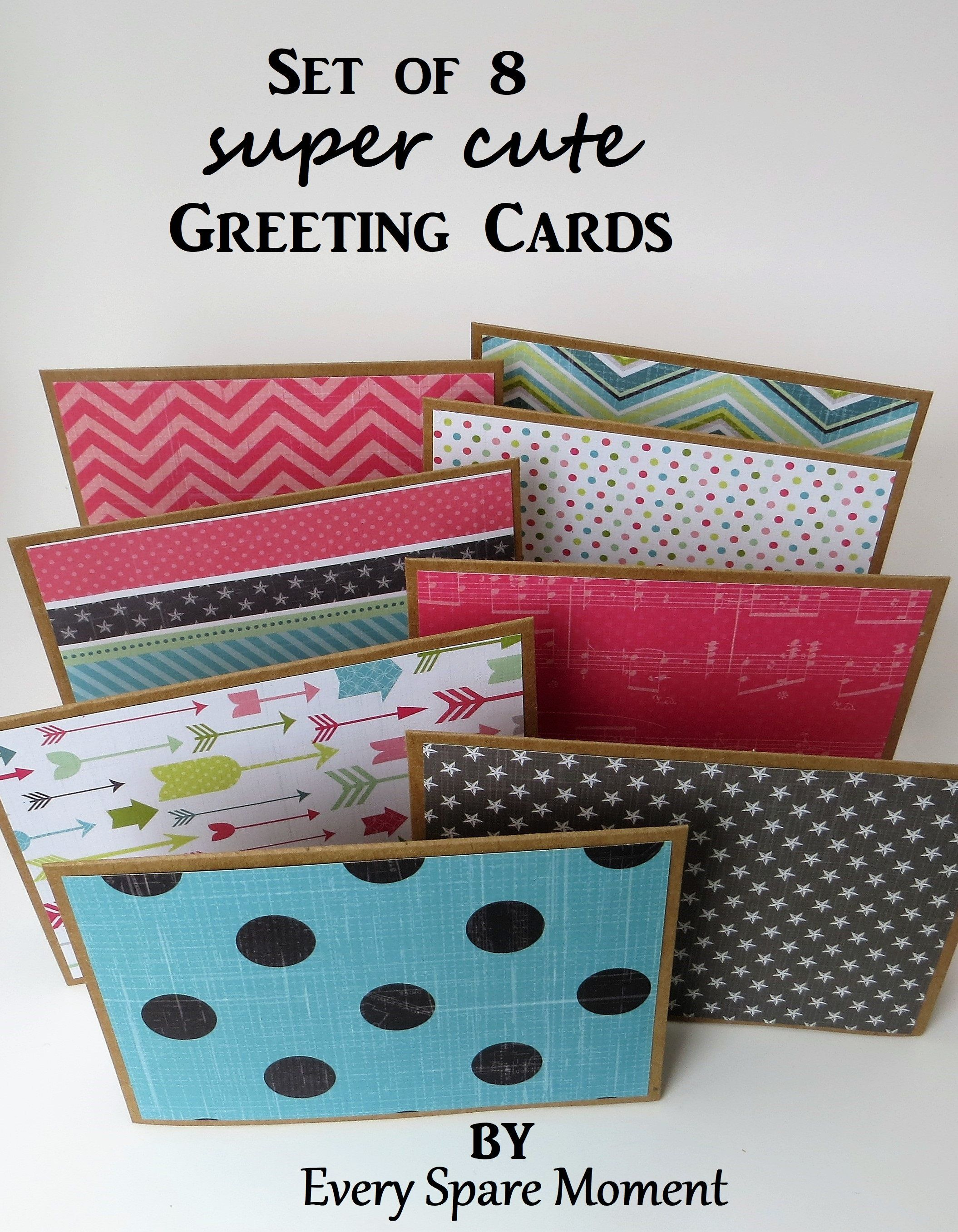 Blank Greeting Cards Set Simple Note Cards For Him All Occasion