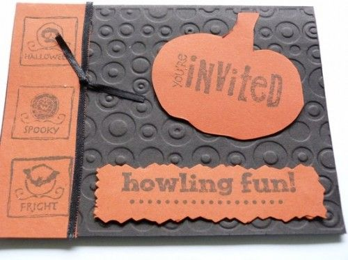 30 creative halloween party invitation ideas shelterness - Homemade Halloween Party Invitations