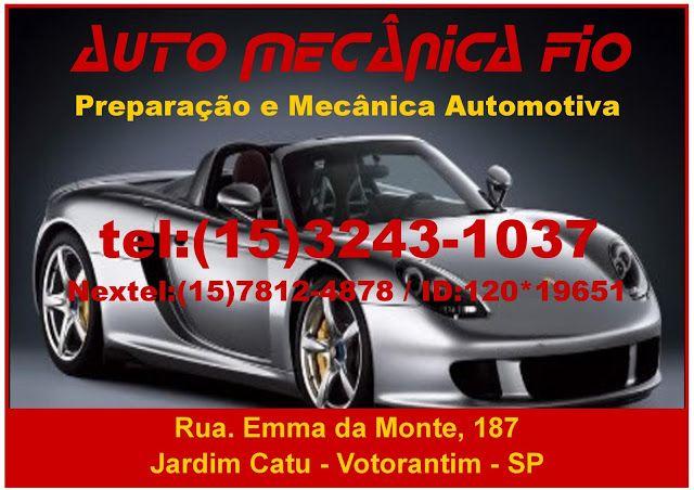 JORNAL AÇÃO POLICIAL SOROCABA E REGIÃO ONLINE: Auto Mecânica  Fio Rua. Emma da Monte, 187 Jardim ...