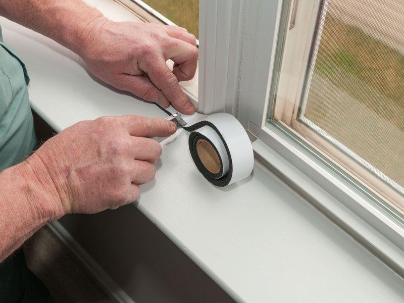 Image result for Using Caulk to Repair Window Leaks