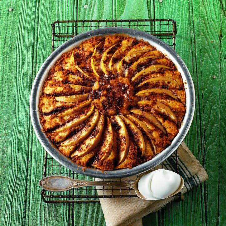 Apple cake with cinnamon sugar recipe recipes
