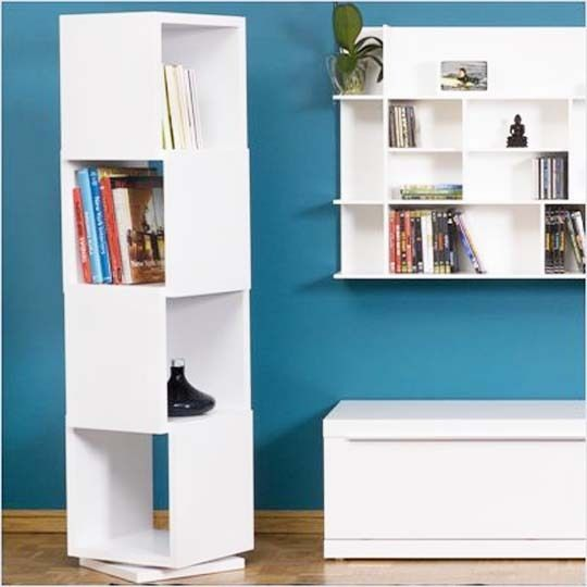 Space Saver U2014 Revolving Bookcases Revisited U2014 Roundup Nice Look