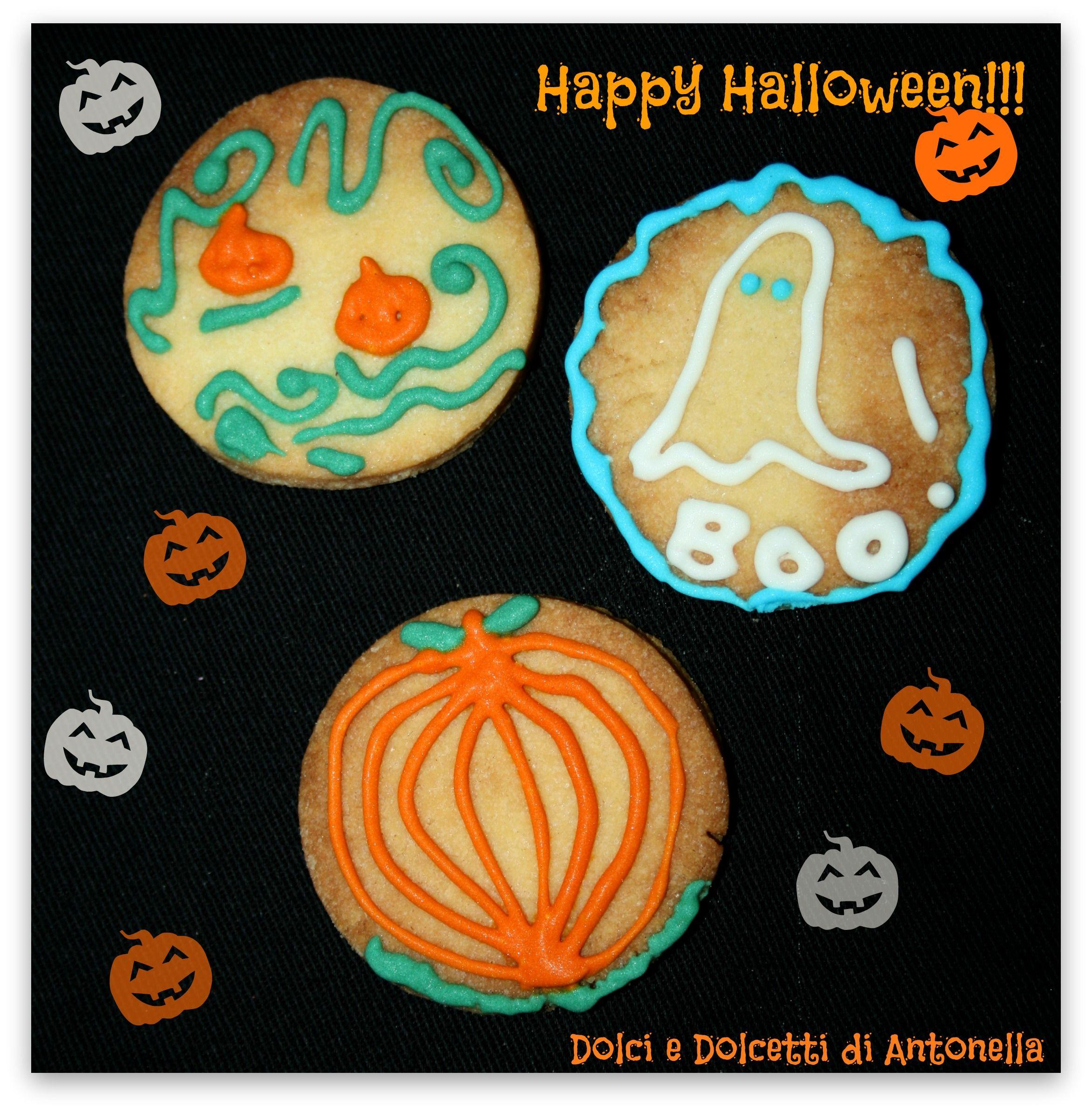 Biscotti di Halloween, Ricetta dolce Ricetta Biscotti