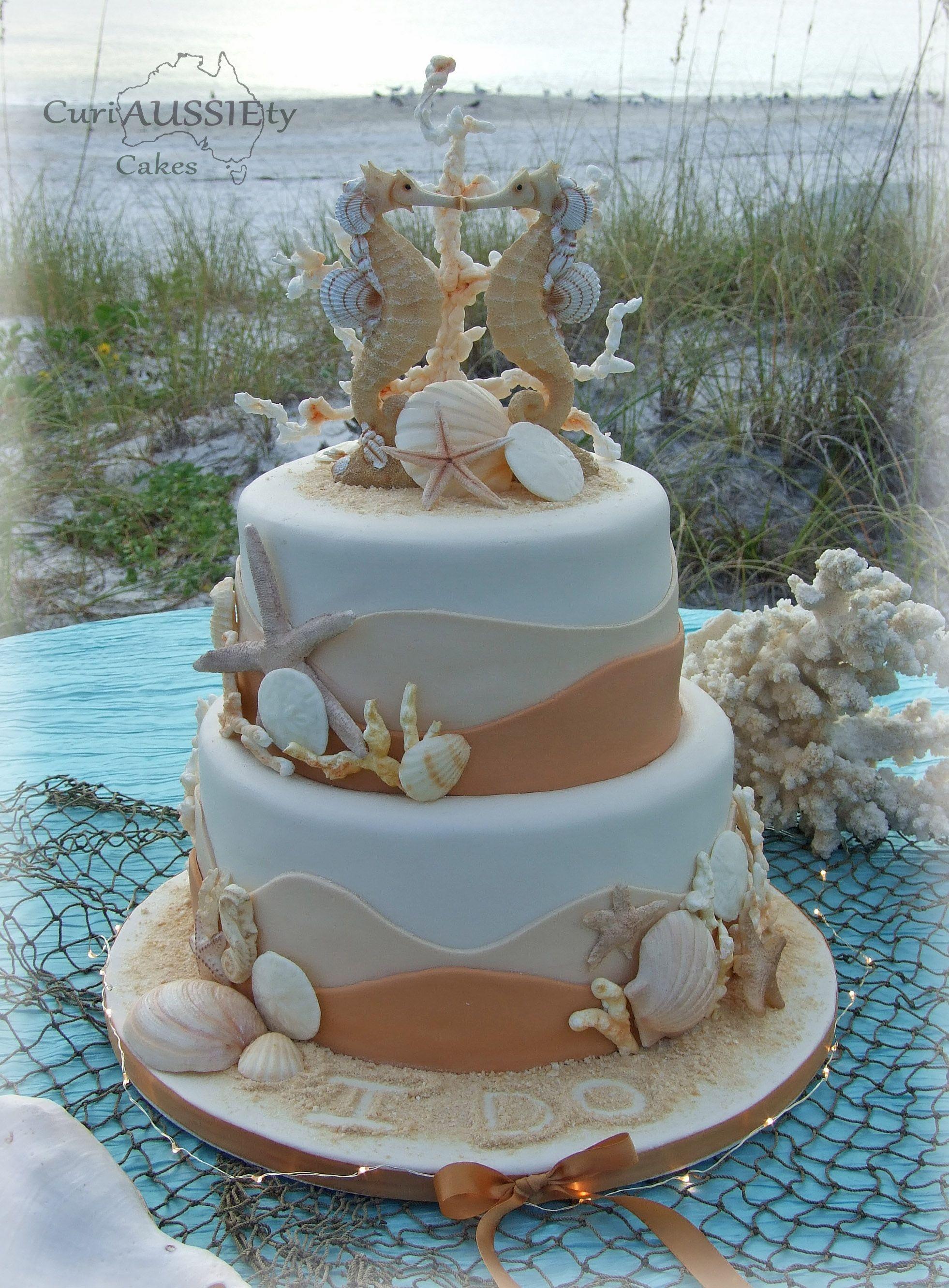 Beach Theme Wedding Cakes Featured Sponsors Beach Theme