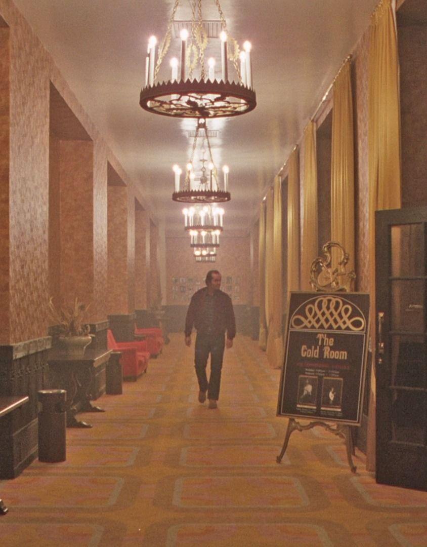 Gold Room Shining Ooooo Scurry Horror