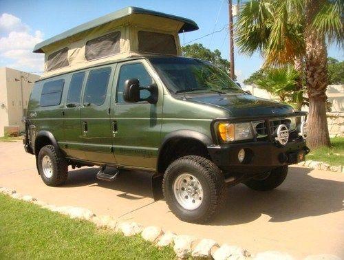 2002 Ford Econoline Sportsmobile 4x4 Quigley Van Very Rare
