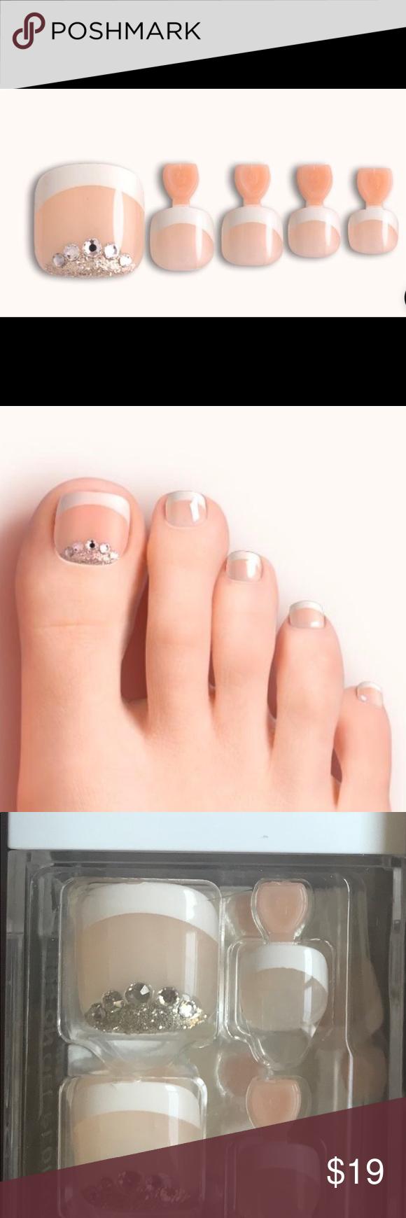 Dashing Diva self adhesive press on gel toe nails Dashing ...