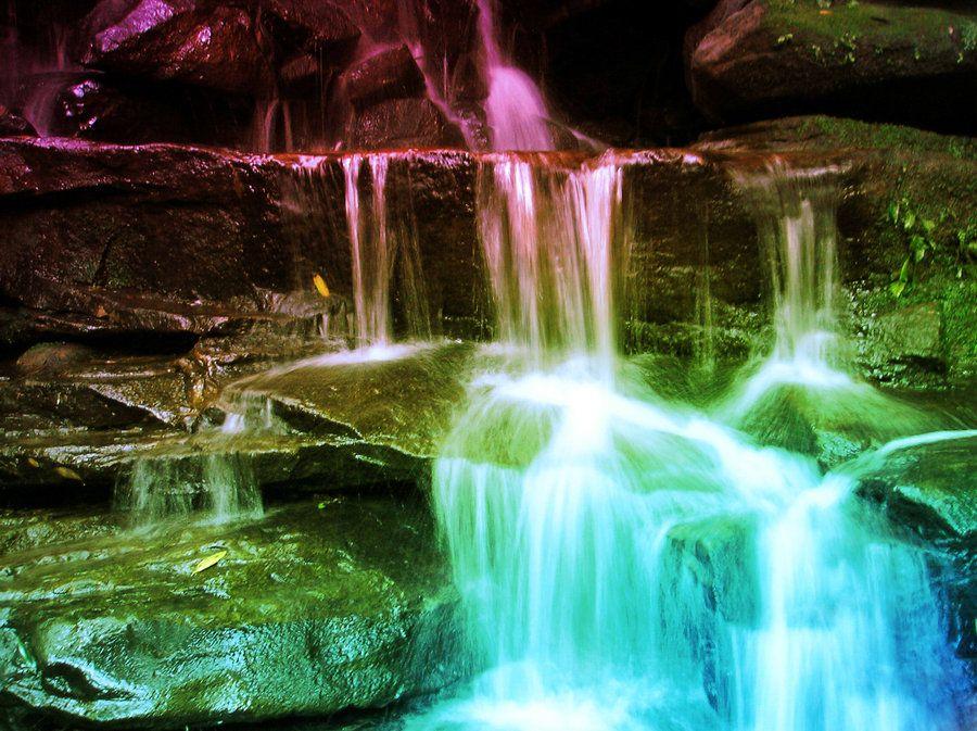 Desktop Wallpapers Waterfalls With Rainbow Waterfall Pictures Waterfall Beautiful Waterfalls