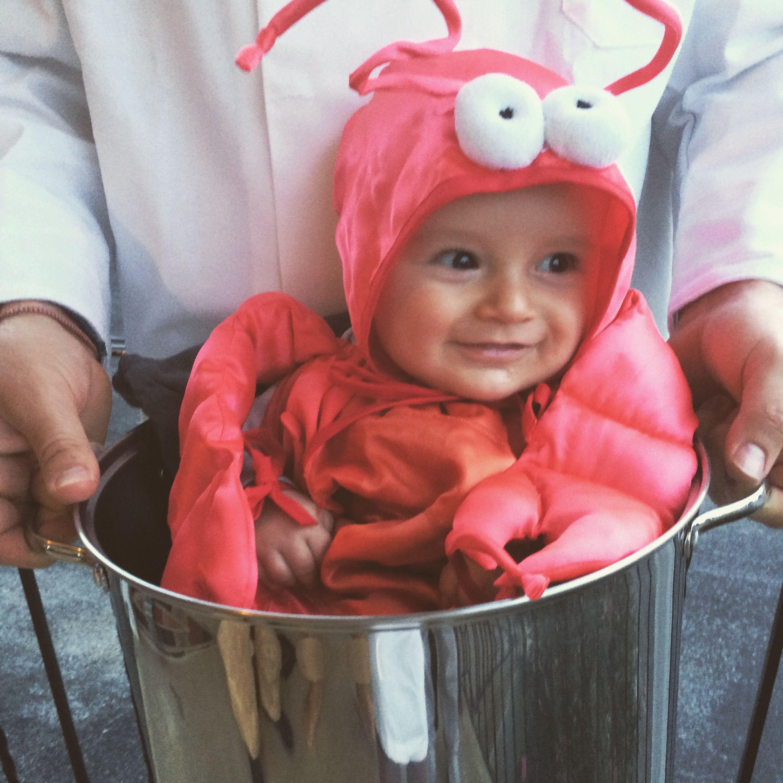 cutest crustacean on the block! baby babies infant halloween costume