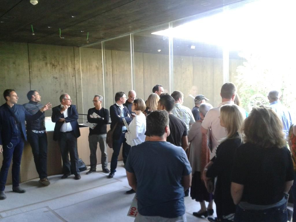 Internationale Kunden von #zumtobel mit architekt loenhart & Team.Breathe.Austria Austrian Expo-Pavillon @wko_aw @expoaustria