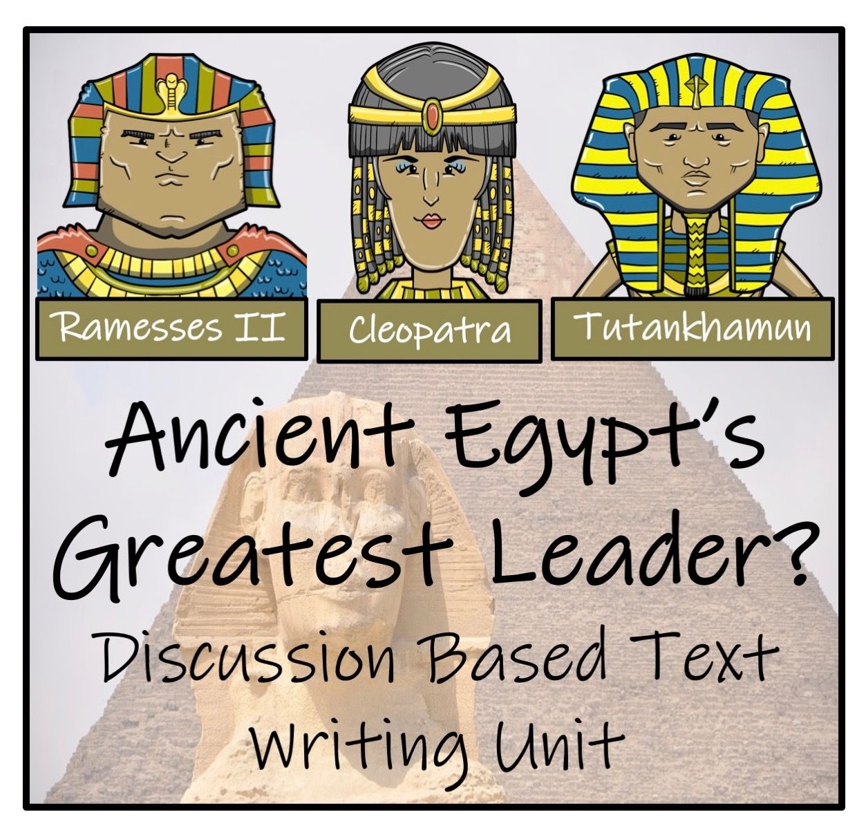 Discussion Based Writing Activities 5th Amp 6th Grade