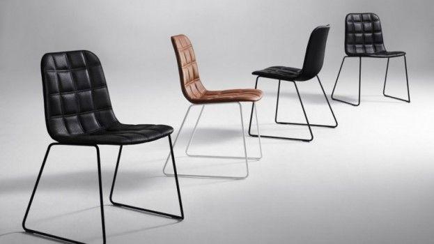 Comfortabele en stapelbare stoel van Offecct