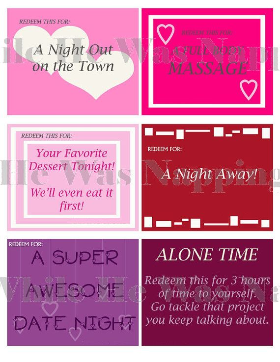 Love Coupons For HimFor Her Instant By Whilehewasnapping On Etsy