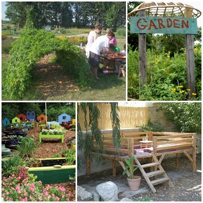 Kids Garden Designs Go Nuts With The Kids Garden Thing
