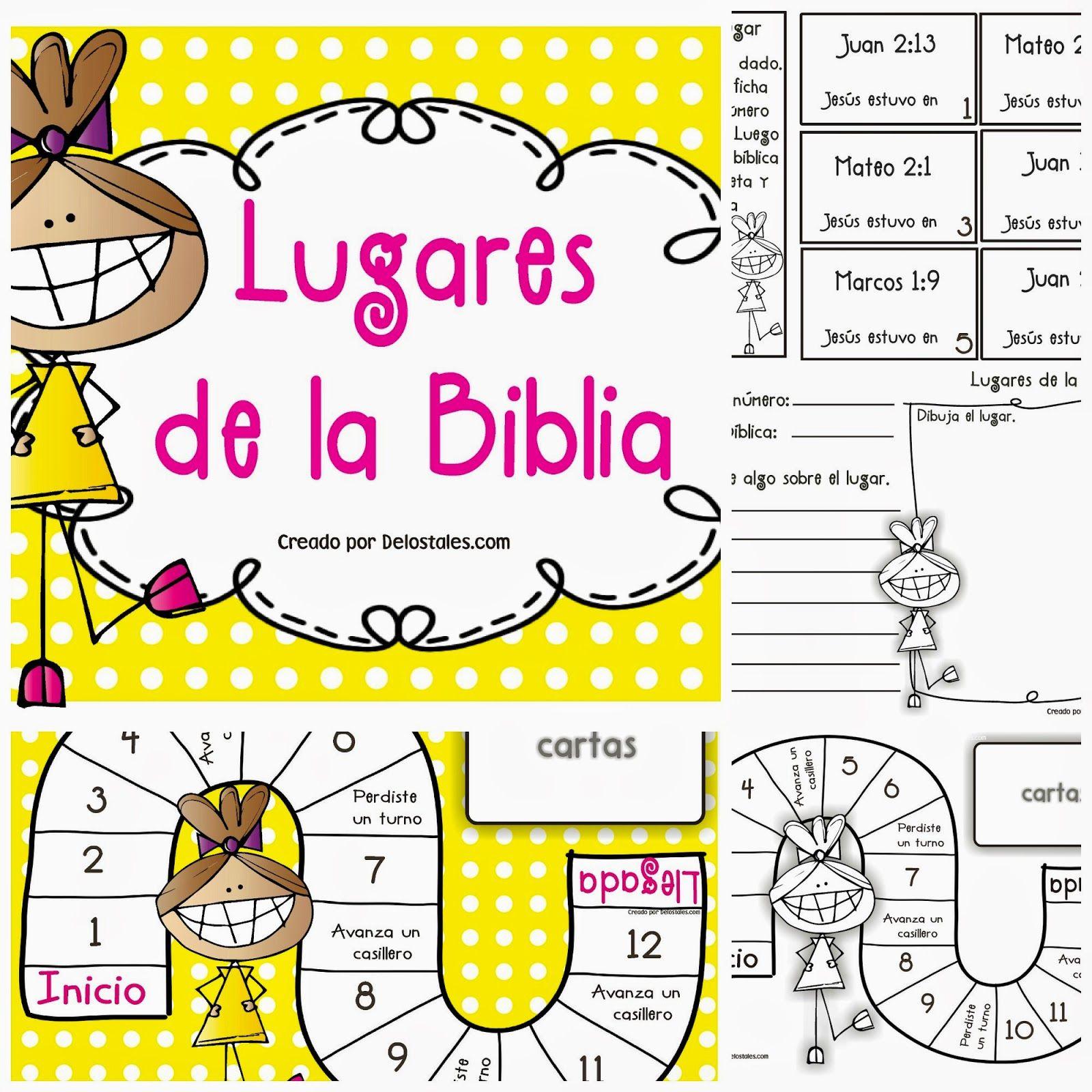 Juegos Biblicos Para Imprimir