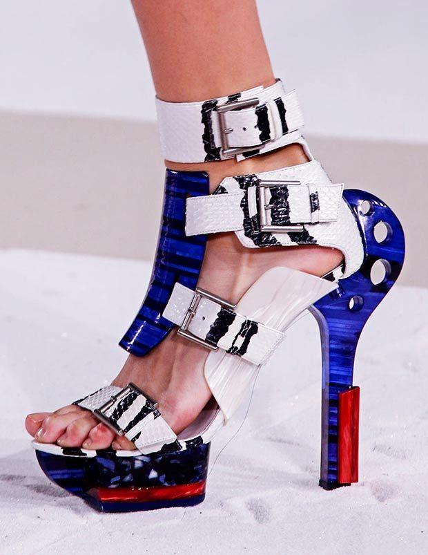 b5ec9839a0bd Nicki Minaj - Warrior Shoes From Alexander McQueen