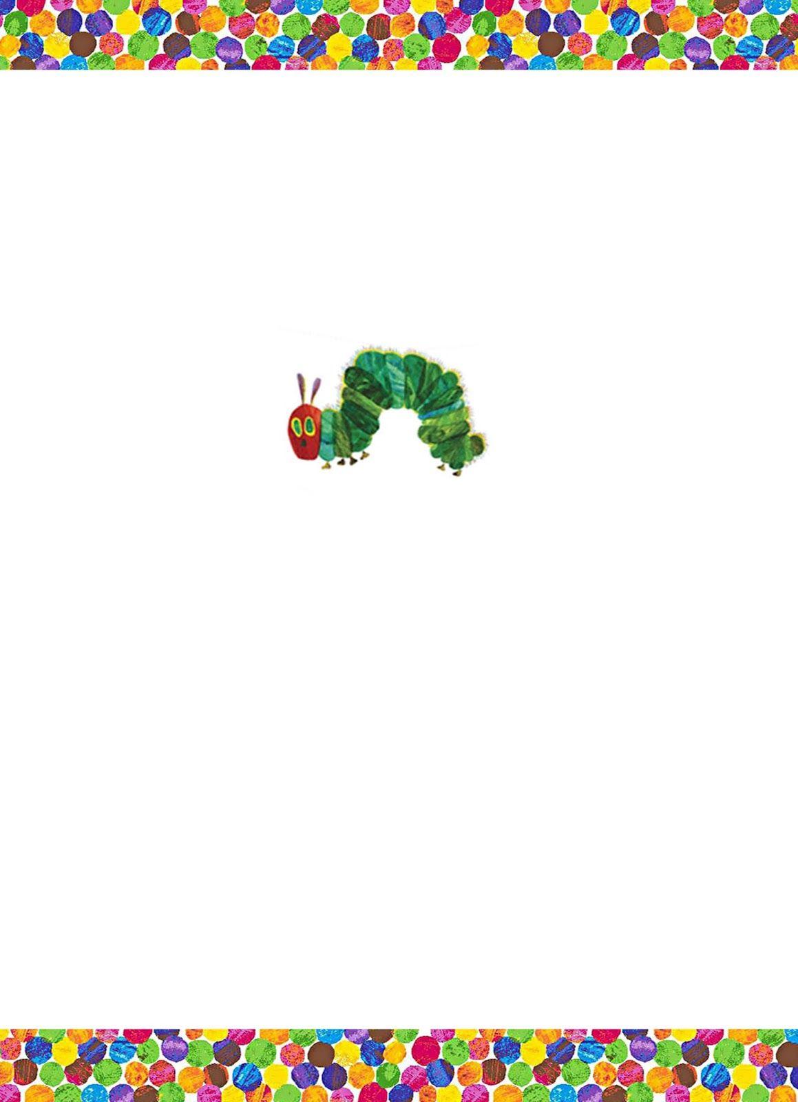 DIY Design Den Free Very Hungry Caterpillar Party