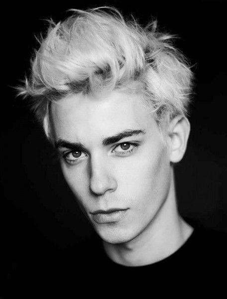 Nicolas Hau Bananas Models Blonde Male Models Portrait People