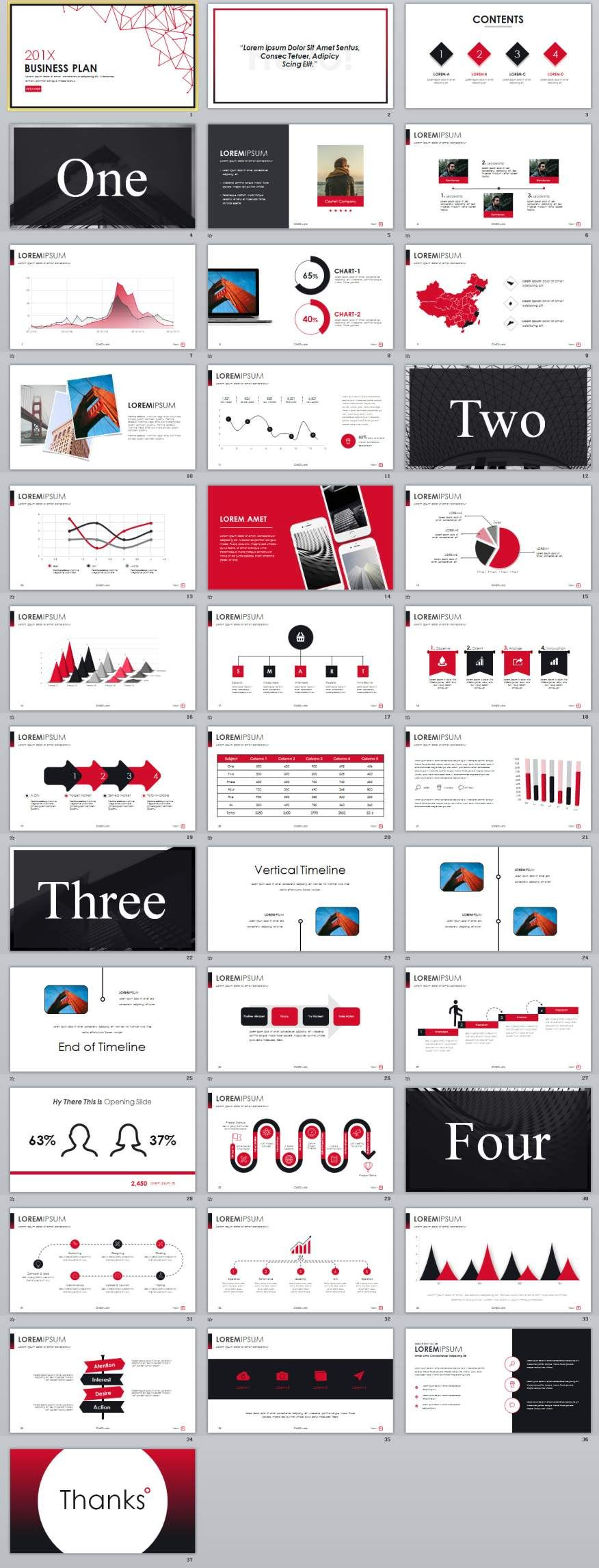 Best Business Plan Powerpoint Templates   Business