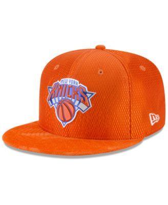huge selection of b1e97 d8938 New Era New York Knicks On Court Reverse 9FIFTY Snapback Cap - Orange  Adjustable