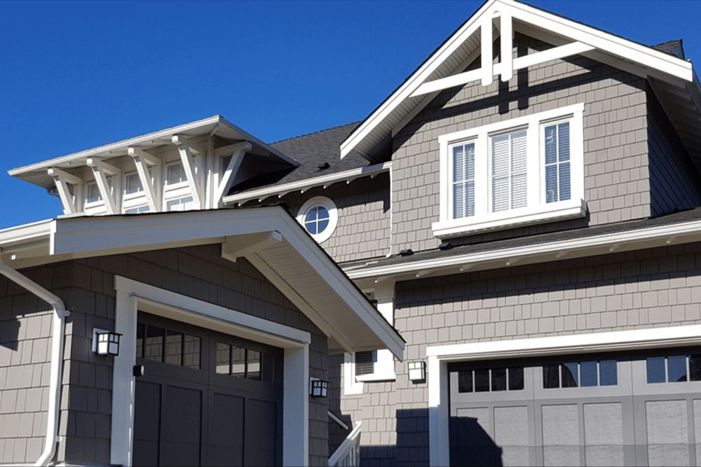 Exterior Colors That Go With A Gray Roof Outdoor House Paint Exterior House Colors Exterior Colors