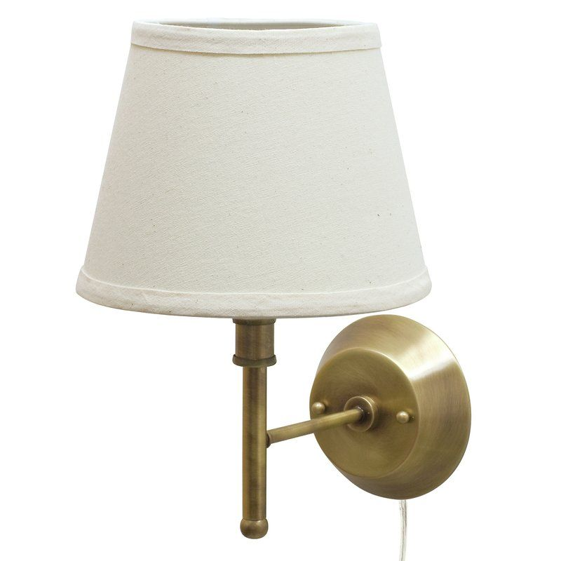 Youll love the eureka 13 pin up 1 light armed sconce