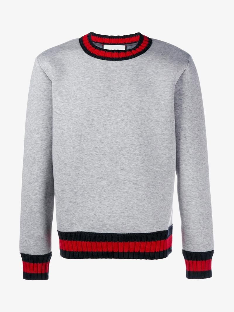 c3dc4df29801 GUCCI WEB TRIM SWEATSHIRT. #gucci #cloth # | Stuff to Buy in 2019 ...