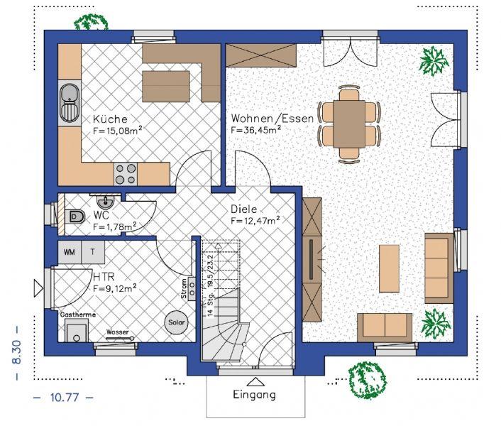 Grundrisse für das eigene Haus erstellen Hausbau