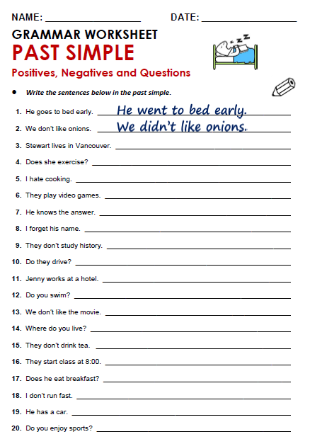 Worksheets Esl Worksheets Pdf free printable pdf grammar worksheets quizzes and games from a to z for