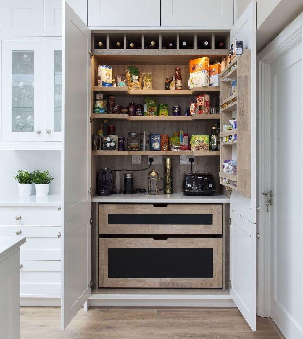 47 Astonishing Built Kitchen Pantry Design Ideas With Images Kitchen Pantry Design Diy Kitchen Renovation Pantry Design