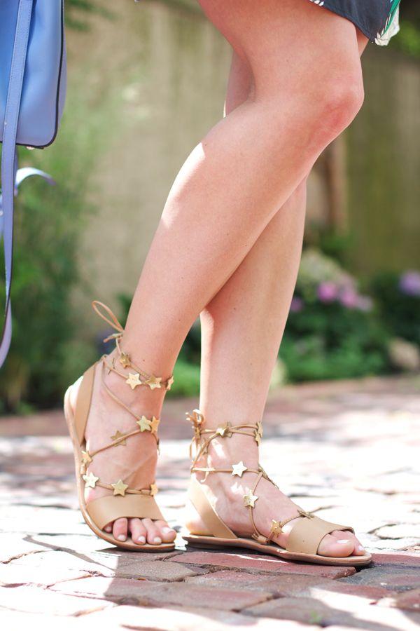 7d8cae4a3e18 Loeffler Randall star sandals.