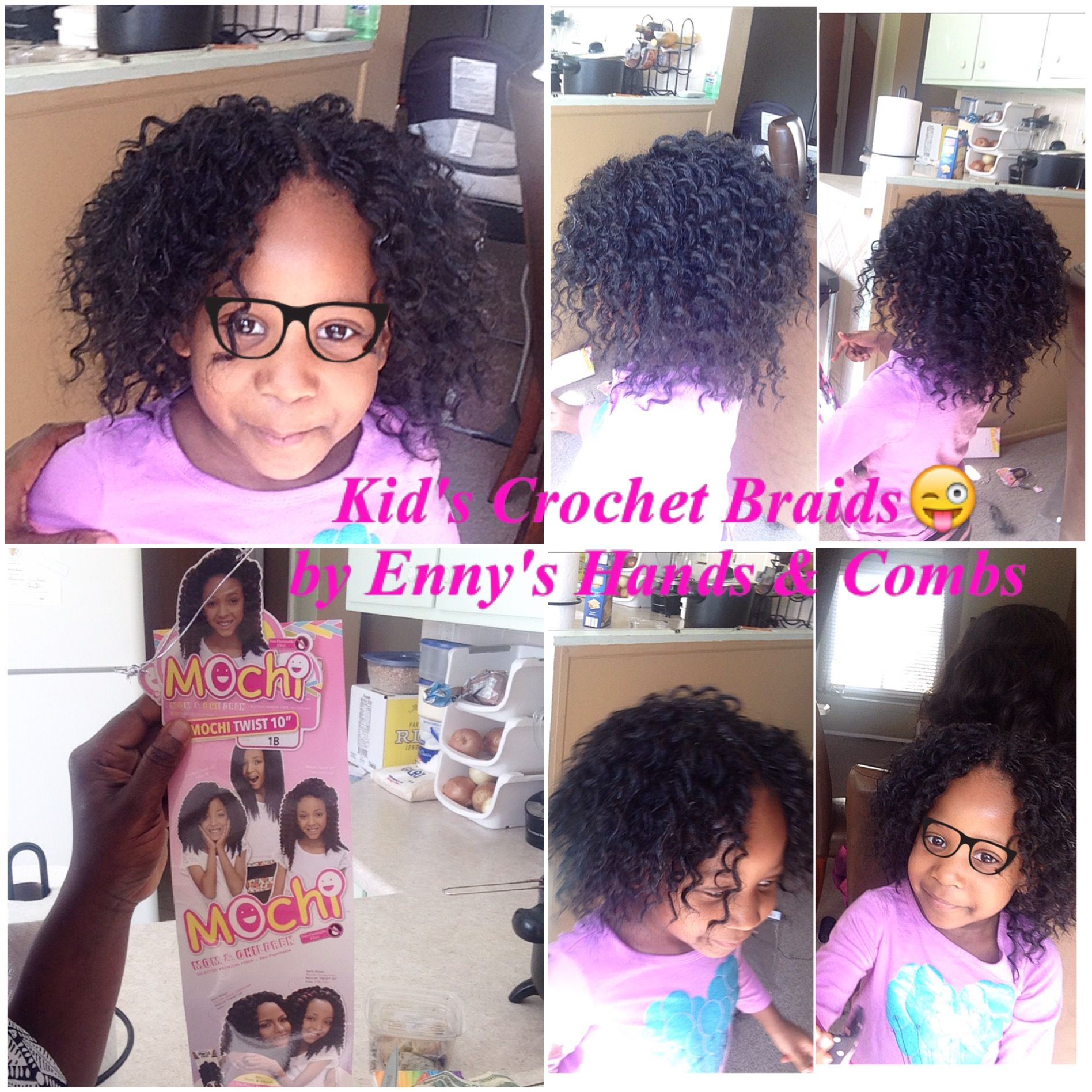 Kids Crochet Braids Styles By Enny S Hands Amp Combs