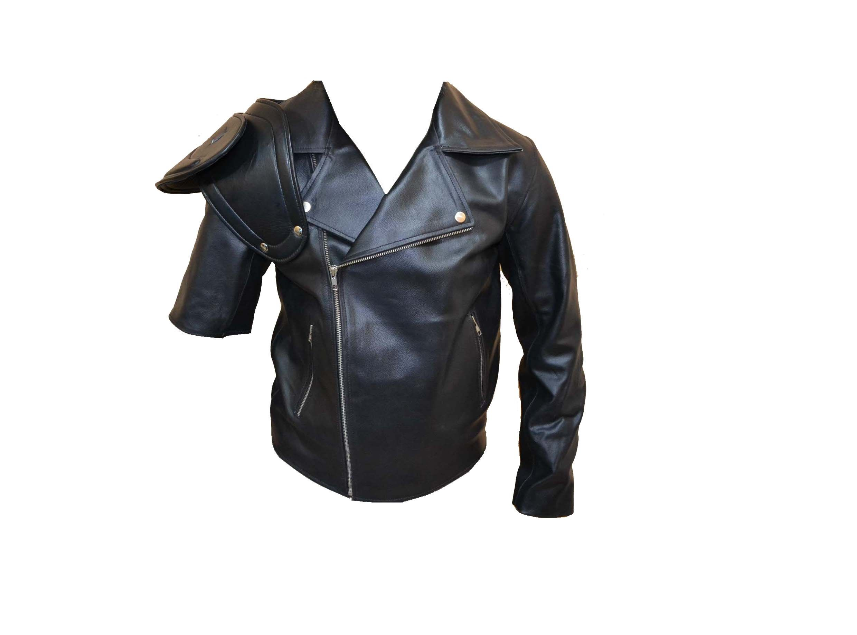Mad Max 2 The Road Warrior Biker Leather Jacket Mad Max Jacket Stylish Leather Jacket Leather Jacket [ 1836 x 2480 Pixel ]