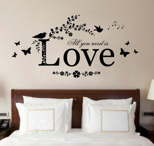 A romantic wall art for a romantic couple room..! | ÖuT oF ŤhĚ bØX ...