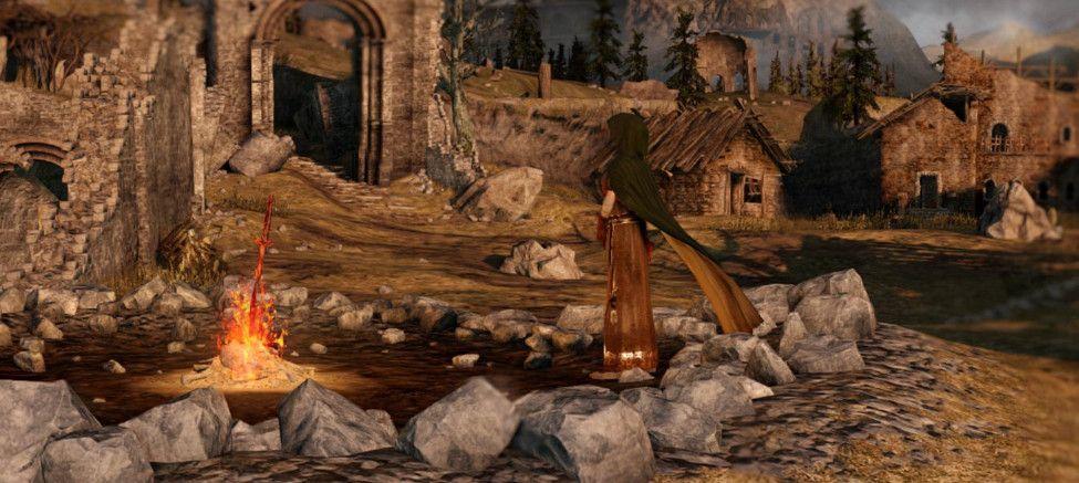 Majula Dark Souls 2