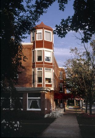 The Anderson House In Wabasha Minnesota Opened 1856 And Is Oldest Hotel State Located On Mississippi River Near Its