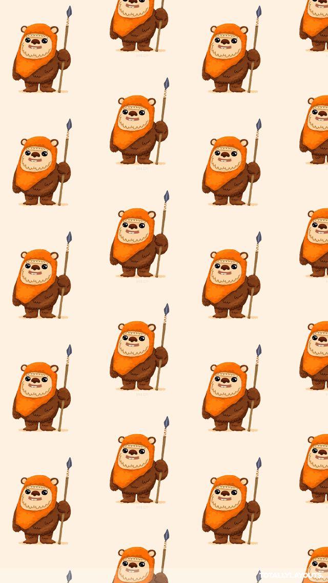Ewoks Lots Of Ewoks Star Wars Cartoon Star Wars Wallpaper Star Wars Wallpaper Iphone