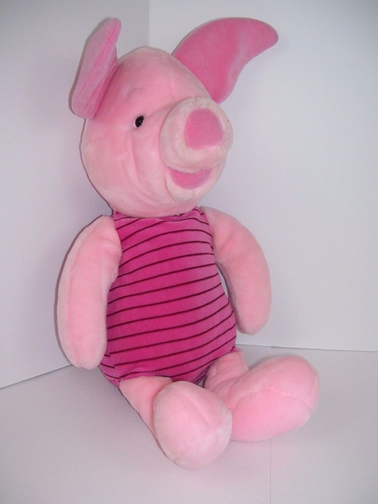 Disney Store Large Piglet From Winnie The Pooh 22 Plush Stuffed Toy