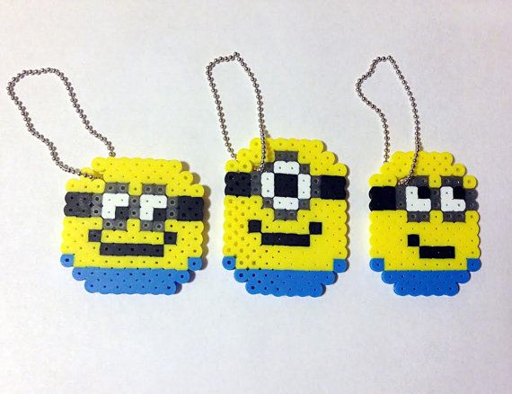 Minion backpack tags