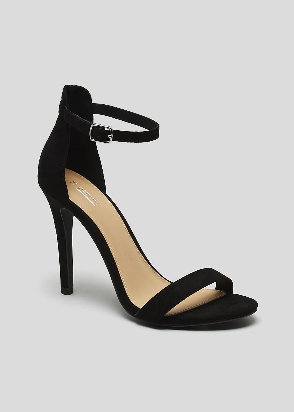 Barely There Strappy Heels | miss