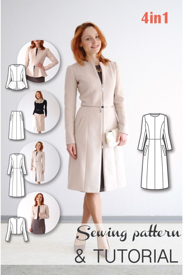 Sewing Patterns Coat Patterns Jacket Patterns Bolero Pattern