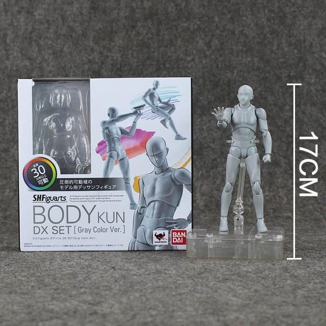 S.H.Figuarts SHF Body Kun Body-Chan DX Action Figure Collectible Model Toy Box