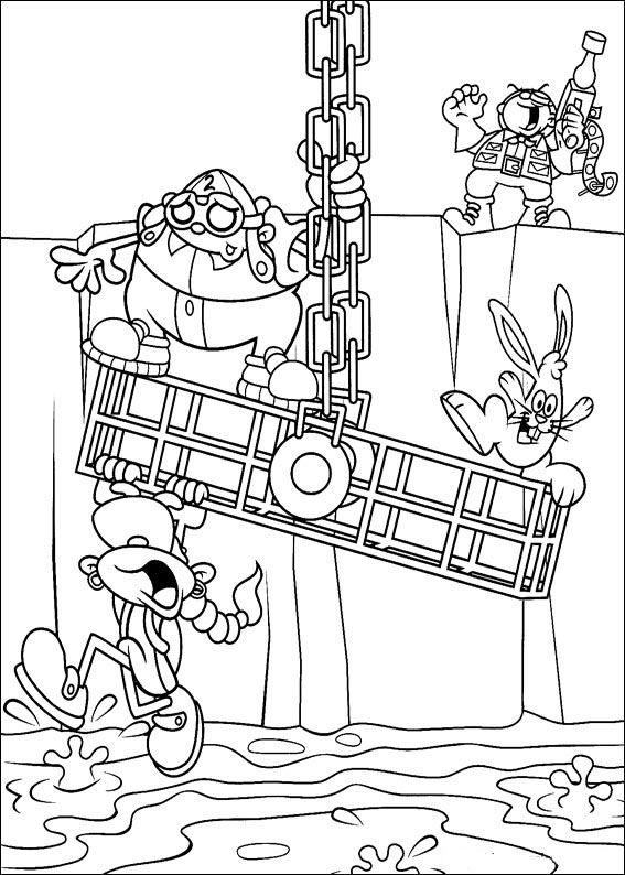 Codename Kids Next Door Tegninger til Farvelægning. Printbare Farvelægning for børn. Tegninger til udskriv og farve nº 9